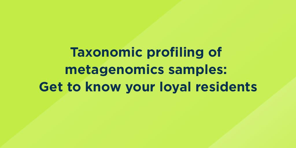 Taxonomic profiling of metagenomics samples: Get to know
